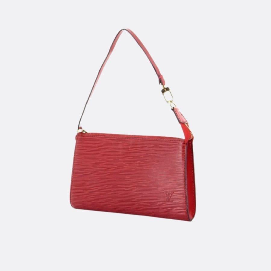 Louis Vuitton - Pochette cuir épi